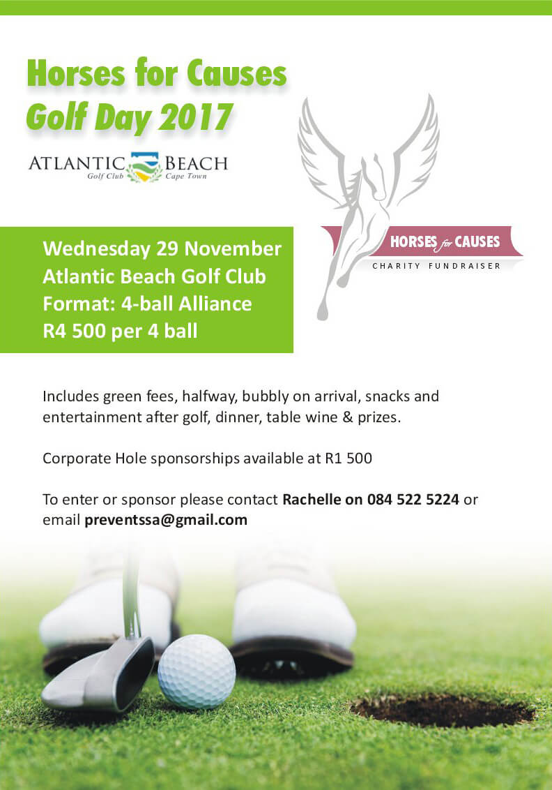 Horses For Causes - Golf Day Invite