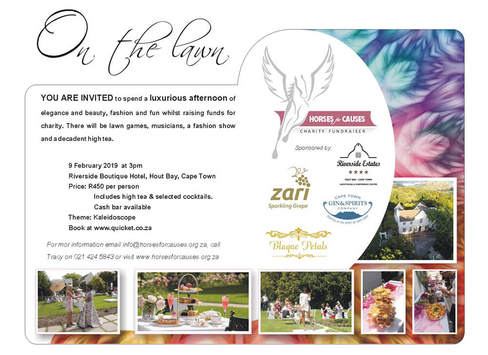 Horses For Causes - On The Lawn Invite